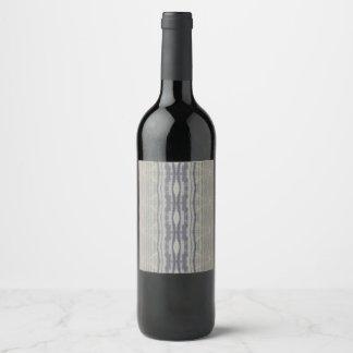 wood grain wine label