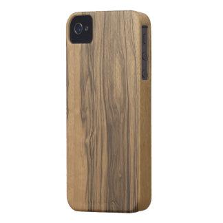 Wood Grain Zebrawood Blackberry Case