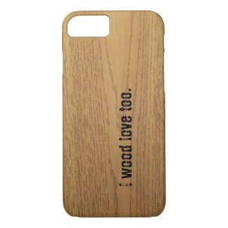 wood graphic iphone 7 case