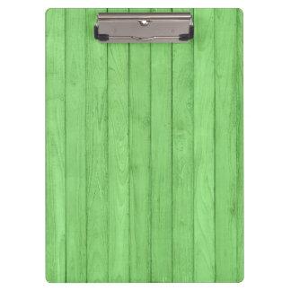 Wood green Clipboard