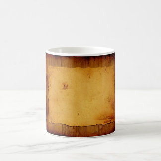 Wood grunge magic mug