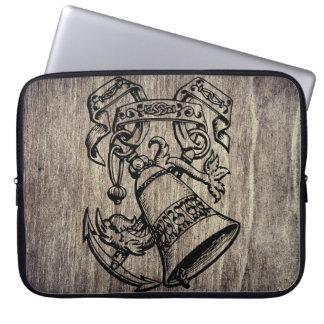 Wood imitation notebook sleeve