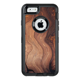 Wood In Motion Pattern Rustic OtterBox Defender iPhone Case