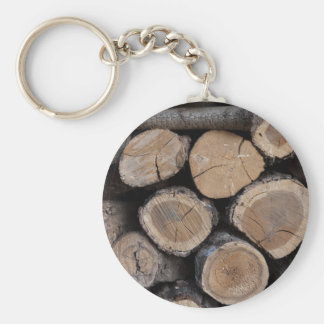 wood in the woodshed key ring
