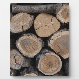 wood in the woodshed plaque