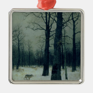 Wood in Winter, 1885 Christmas Ornament