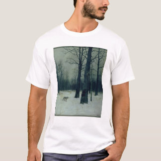 Wood in Winter, 1885 T-Shirt