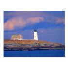 Wood Island Lighthouse near Biddeford Postcard