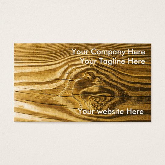 wood knot grain background texture business card
