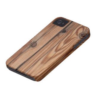 Wood Knot - Wood Grain Texture iPhone 4 Case