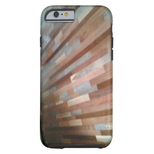 Wood look cell phone case