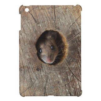 Wood Mouse iPad Mini Covers