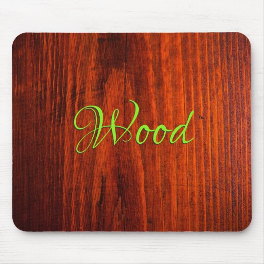 Wood Mouse Mat