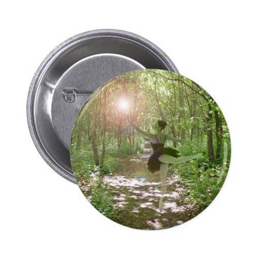 Wood Nymph 6 Cm Round Badge