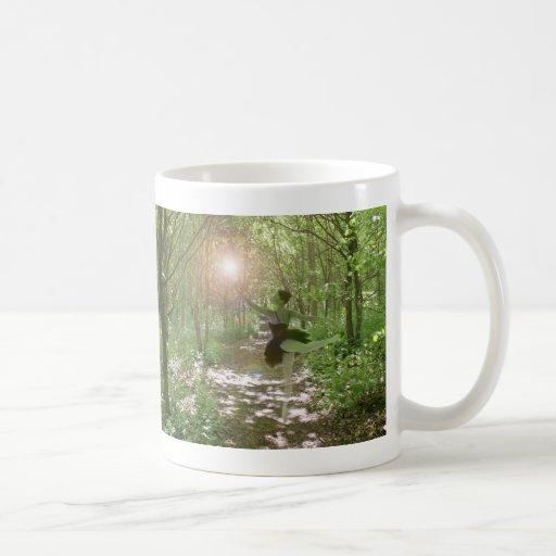 Wood Nymph Classic White Coffee Mug