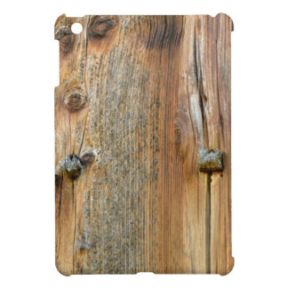 Wood of barn iPad mini cover