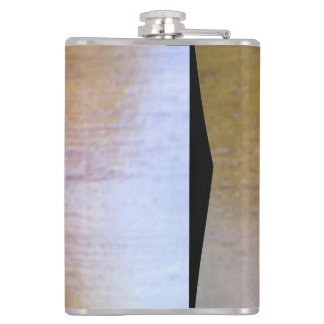 wood ourdoor hip flask