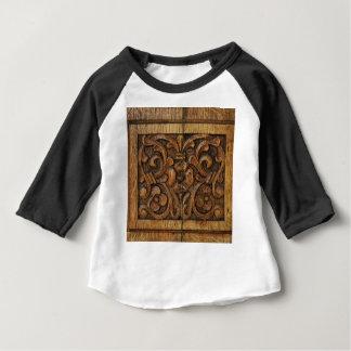 wood panel baby T-Shirt