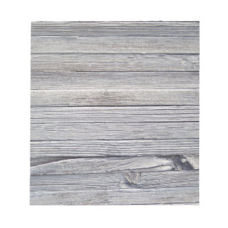 wood panel memo notepad