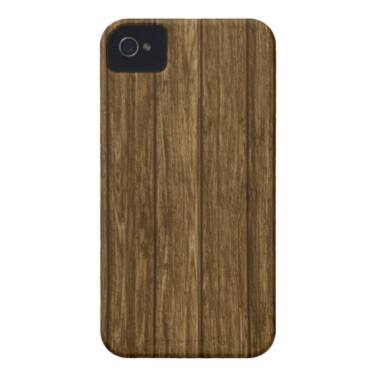 Wood Panel Photo Print iPhone 4 Case-Mate