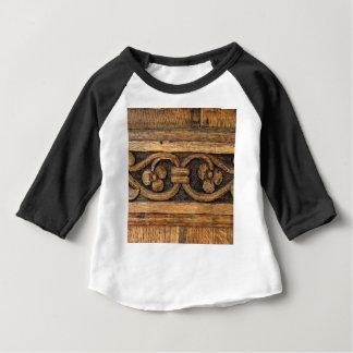 wood panel sculpture baby T-Shirt