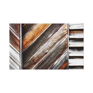 Wood Pattern Canvas Canvas Print
