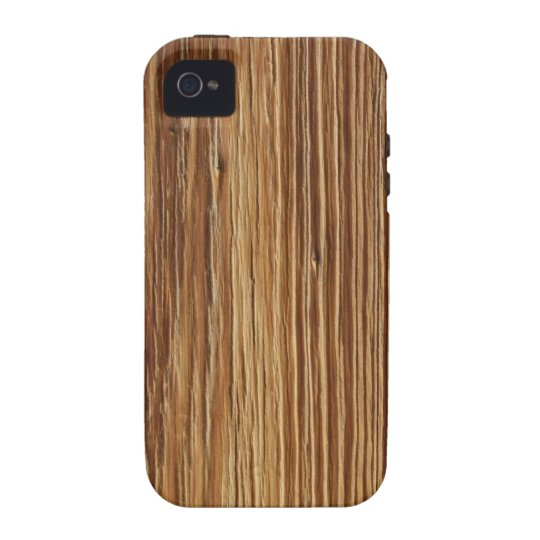 WOOD PATTERN Case-Mate iPhone 4 CASES