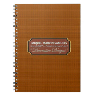 Wood Pattern Decorative Modern Notebook