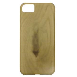 wood pattern iPhone 5C case