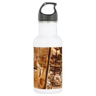 Wood Pattern Water Bottle