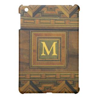 Wood pern iPad mini case