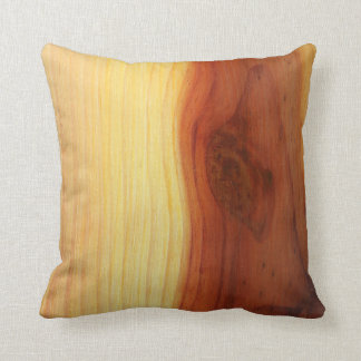 Wood Picture Cushion