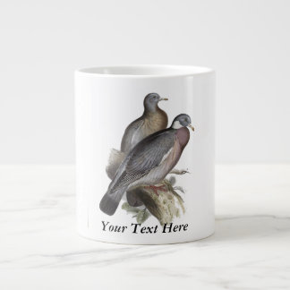 Wood Pigeon Giant Coffee Mug