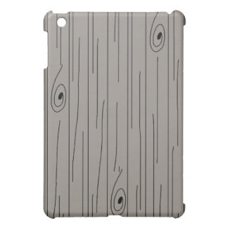 Wood Plank Pattern Hard Shell iPad Case