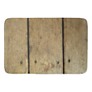 Wood Planks Bath Mat