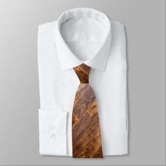 Wood planks tie