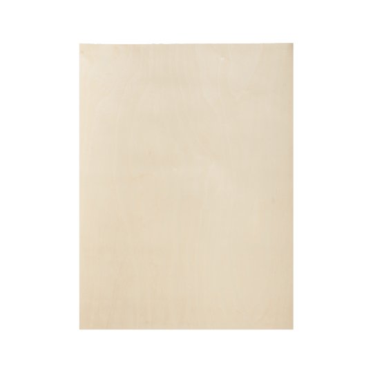 "Custom Wood Poster, 48.3 cm x 36.8 cm (19"" x 14.5"")"