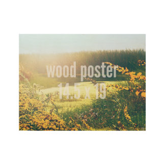 Wood Poster 14.5 x 19 Horizontal Fill Template