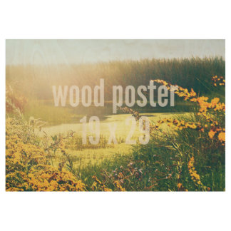 Wood Poster 19 x 29 HOrizontal Fill Template