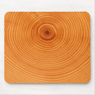Wood ring, tree cross section mouse pad