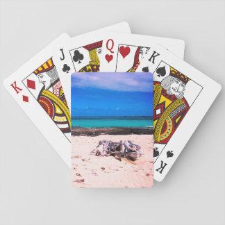 Wood&Rocks Beach Playing Cards