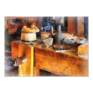 Wood Shop With Wooden Bucket Invites