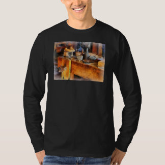 Wood Shop With Wooden Bucket Shirt