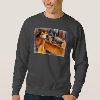 Wood Shop With Wooden Bucket Sweatshirt
