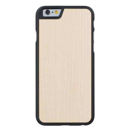 Wood Slim iPhone 6 Case