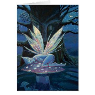 Wood Spirit - Fairy Art Greeting Card