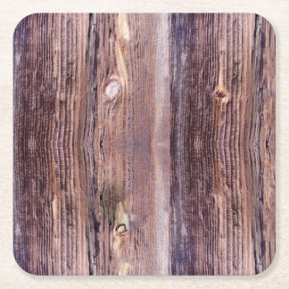 Wood Square Paper Coaster