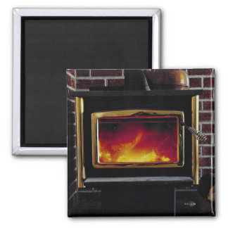 Wood stove square magnet
