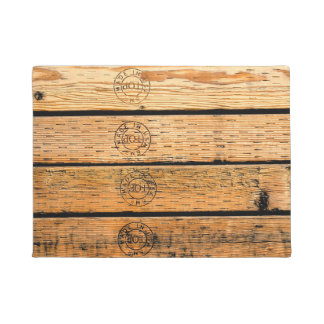 Wood Stripes Made in USA Doormat