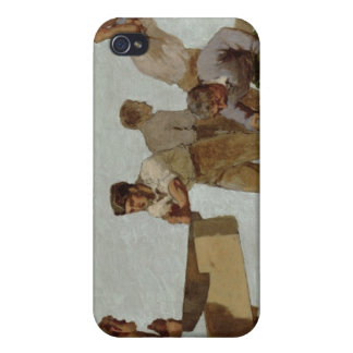 Wood Structure iPhone 4 Case